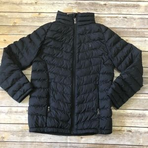 Boys Polo Ralph Lauren Black Puffer Coat Sz 8